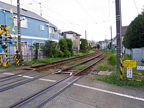 世田谷線-豪徳寺前駅