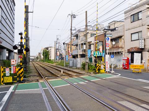 世田谷線-旧宮の坂駅
