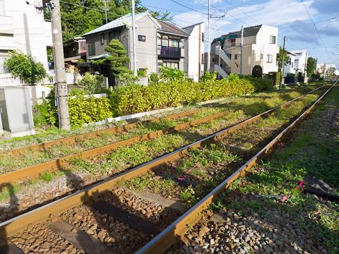 世田谷線-六所神社前駅