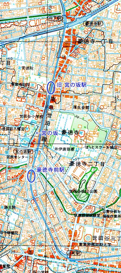 世田谷線地図1