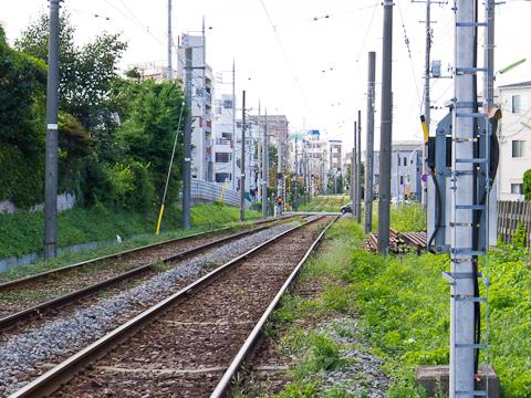 世田谷線-勾配1
